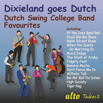 Dutch Swing College Band - Dixieland Goes Dutch
