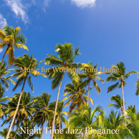 Night Time Jazz Elegance - Music for Working from Home