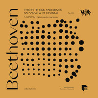 Julius Katchen - Beethoven: Thirty-Three Variations on a Waltz by Diabelli, Op. 120: Variation 1. Alla marcia maestoso
