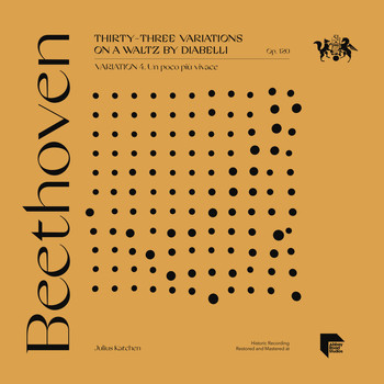 Julius Katchen - Beethoven: Thirty-Three Variations on a Waltz by Diabelli, Op. 120: Variation 4. Un poco più vivace