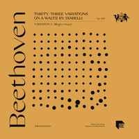 Julius Katchen - Beethoven: Thirty-Three Variations on a Waltz by Diabelli, Op. 120: Variation 5. Allegro vivace