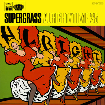 Supergrass - Alright / Time 25