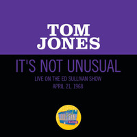Tom Jones - It's Not Unusual (Live On The Ed Sullivan Show, April 21, 1968)