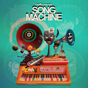 Gorillaz - Song Machine: Pac-Man (feat. ScHoolboy Q) (Explicit)