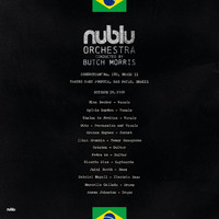 Nublu Orchestra and Butch Morris - Live in Sao Paolo