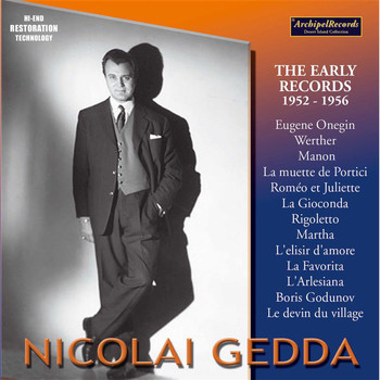 Nicolai Gedda - Nicolai Gedda The Early Records 1952-1956