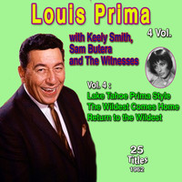 Louis Prima - Louis Prima 4 Vol. - 100 Successes (Vol. 4 : Lake Tahoe Prima Style The Wildest Comes Home Return to the Wildes)