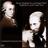 "Berliner Philharmoniker - Mozart- Symphony No. 31 in D major ""Paris"", Symphony No. 36 in C major ""Linz"""