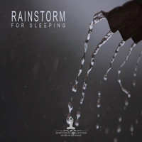 Zen Meditation and Natural White Noise and New Age Deep Massage - Rainstorm for Sleeping