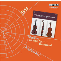 Ruggiero Ricci - Paganini: 24 Caprices for Violin, Op.1 (Complete)