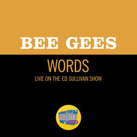 Bee Gees - Words (Live On The Ed Sullivan Show, March 17, 1968)