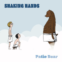 Patio Bear - Shaking Hands