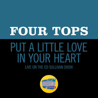Four Tops - Put A Little Love In Your Heart (Live On The Ed Sullivan Show, November 8, 1970)