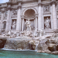 Thalia Megan - Trevi Fountain