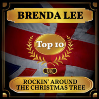 Brenda Lee - Rockin' Around the Christmas Tree (UK Chart Top 40 - No. 6)