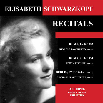 Elisabeth Schwarzkopf - Schubert, Brahms & Others: Art Songs (Live)