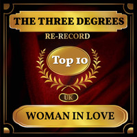 THE THREE DEGREES - Woman in Love (UK Chart Top 40 - No. 3)