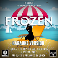"Urock Karaoke - In Summer (From ""Frozen"") (Karaoke Version)"