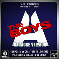 "Urock Karaoke - Faster A-Train's Song (From ""The Boys"") (Karaoke Version)"