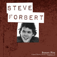 Steve Forbert - Sunset Fire (Capitol Theatre, New Jersey Live '79)