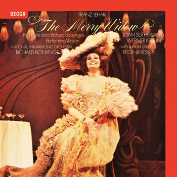 Joan Sutherland - Lehar: The Merry Widow – Excerpts (Opera Gala – Volume 9)