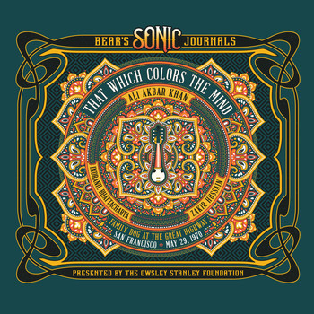Ali Akbar Khan - Bear's Sonic Journals: That Which Colors the Mind