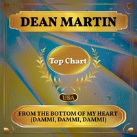 Dean Martin - From the Bottom of My Heart (Dammi, Dammi, Dammi) (Billboard Hot 100 - No 91)