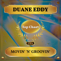 Duane Eddy - Movin' 'n' Groovin' (Billboard Hot 100 - No 72)