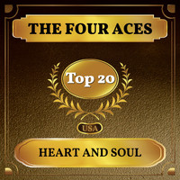 The Four Aces - Heart and Soul (Billboard Hot 100 - No 11)