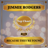 Jimmie Rodgers - Because You're Young (Billboard Hot 100 - No 62)