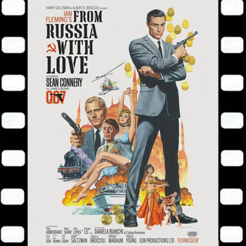 John Barry Orchestra - From Russia With Love (Sean Connery James Bond 007 e Daniela Bianchi Original Soundtrack 1963)