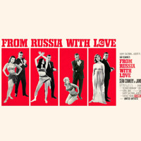 John Barry Orchestra - From Russia With Love (Sean Connery James Bond 007 And Daniela Bianchi Original Soundtrack 1963)