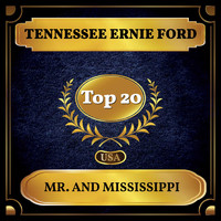 Tennessee Ernie Ford - Mr. and Mississippi (Billboard Hot 100 - No 18)