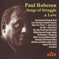 Paul Robeson - Paul Robeson: Songs of Struggle and Love