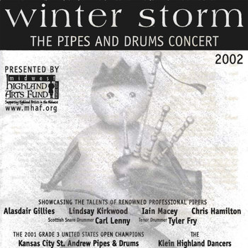 Various Artists - Midwest Highland Arts Fund: Winter Storm  The Pipes and Drums Concert