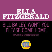 Ella Fitzgerald - Bill Bailey, Won't You Please Come Home (Live On The Ed Sullivan Show, May 5, 1963)
