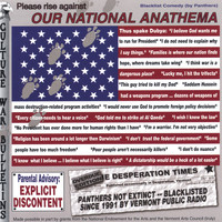 Panthers - Please Rise Against OUR NATIONAL ANATHEMA