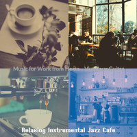 Relaxing Instrumental Jazz Cafe - Music for Work from Home - Vivacious Guitar