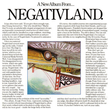 Negativland - Escape from Noise