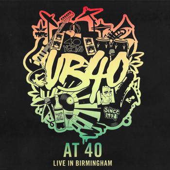 UB40 - UB40 at 40 (Live in Birmingham)