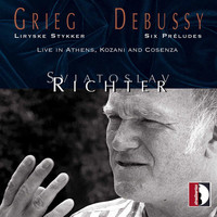 Sviatoslav Richter - Edvard Grieg, Claude Debussy: Live in Athens, Kozani and Cosenza - Sviatoslav Richter