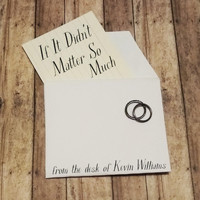 Kevin Williams - If It Didn't Matter so Much