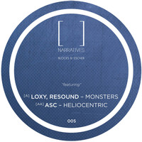 Blocks & Escher - Monsters / Heliocentric