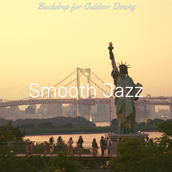 Smooth Jazz - Backdrop for Outdoor Dining