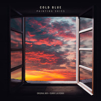 Cold Blue - Painting Skies