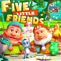 LooLoo Kids - Five Little Friends